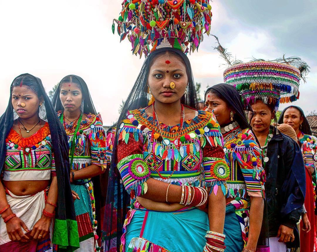 Женщины Тару из Непала