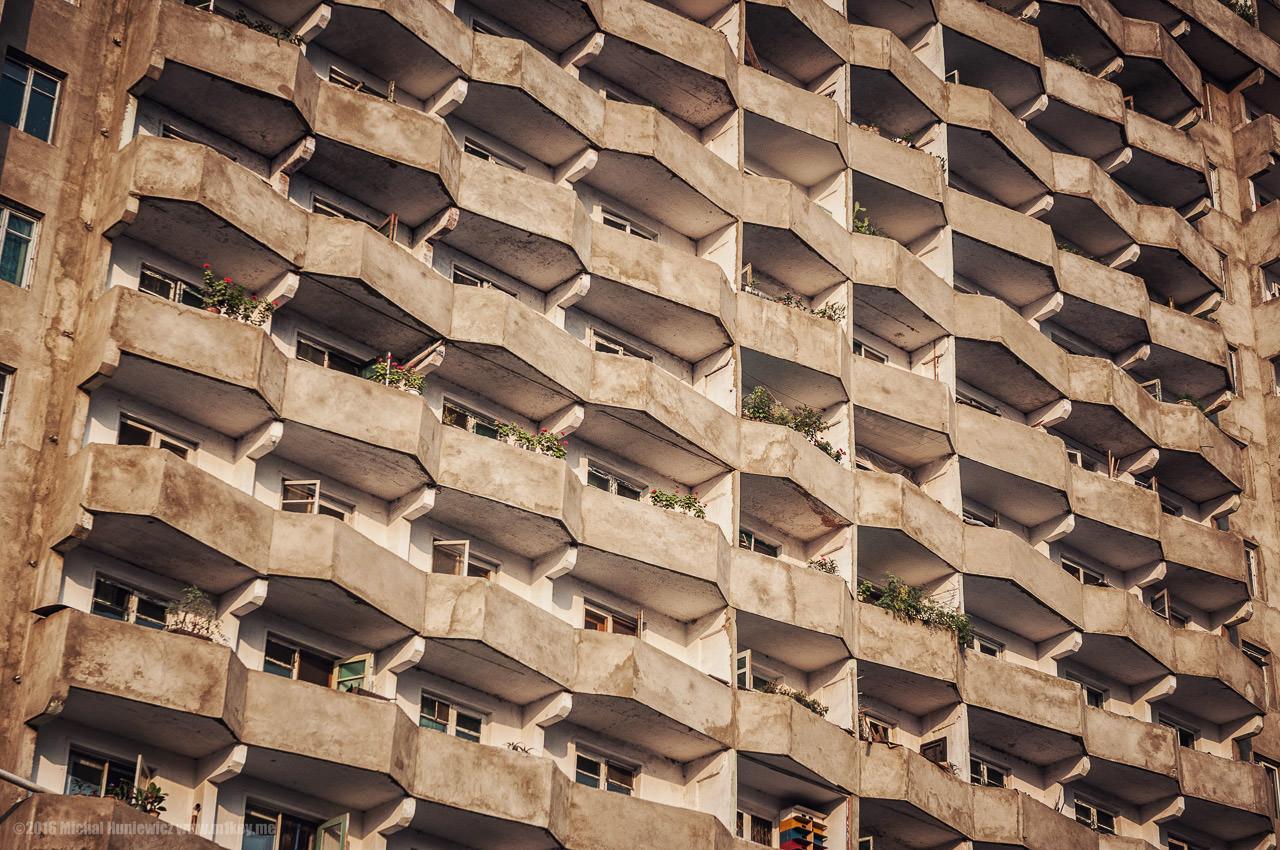 Жилой дом в Северной Корее