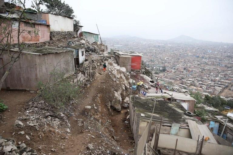 Обычная улица в Перу.