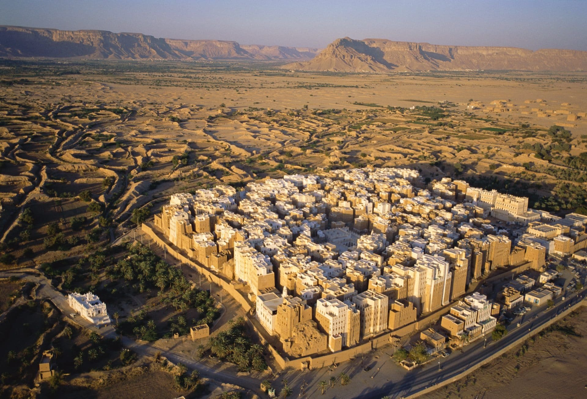 А в Йемене есть вот такой город: