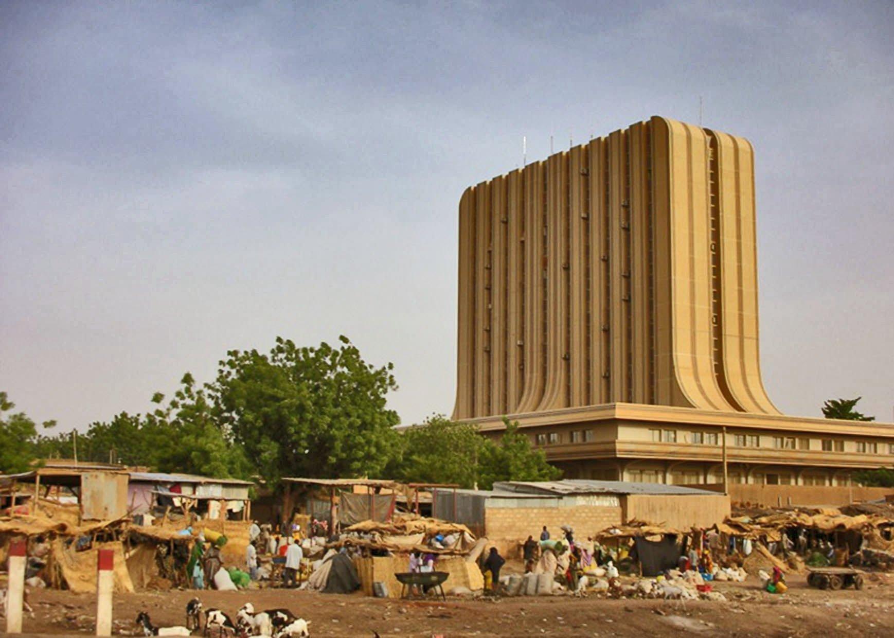 Ниамей, столица Нигера.