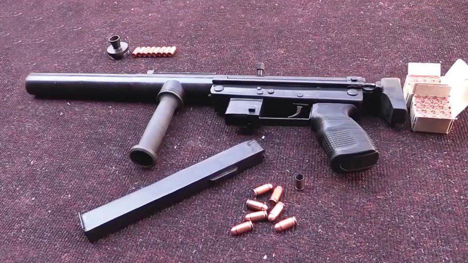 В ДНР сделали пистолет-пулемет