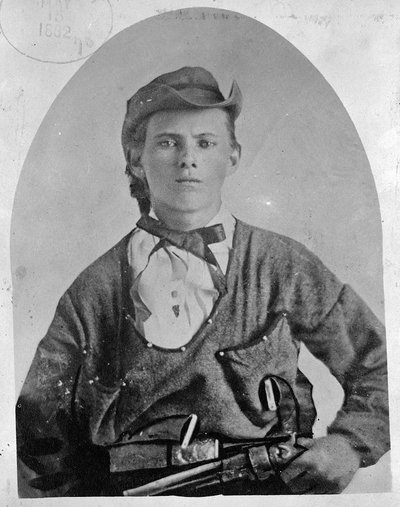Young Jesse James, 1882: old school badass.