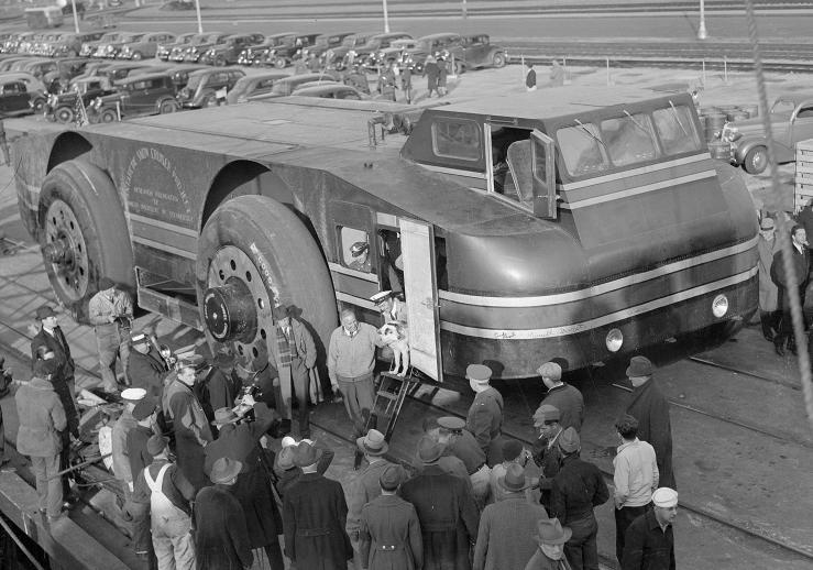 Приключения арктической машины американцев.