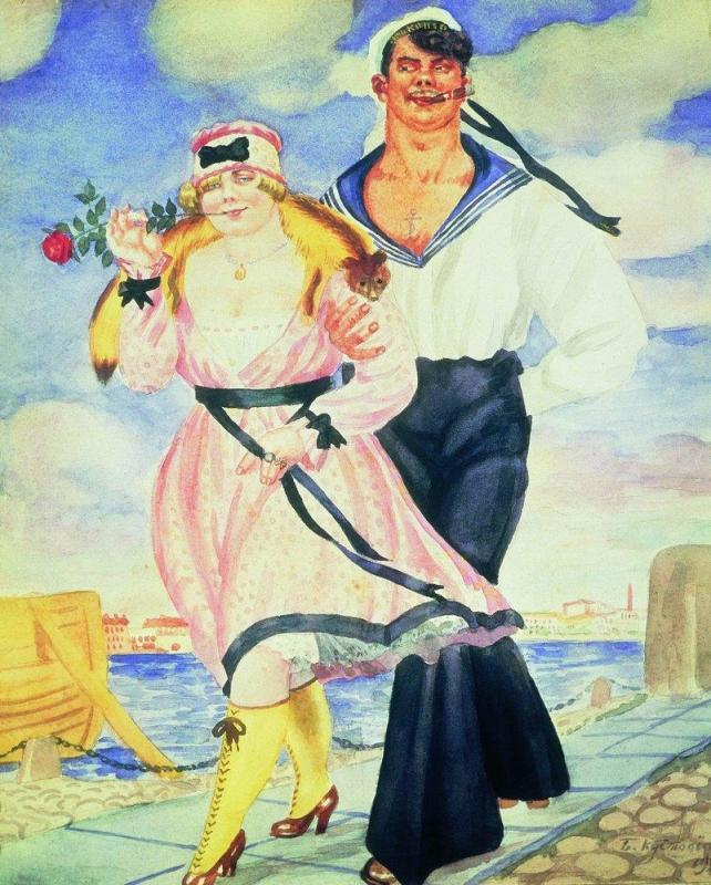 Матрос и милая 1920