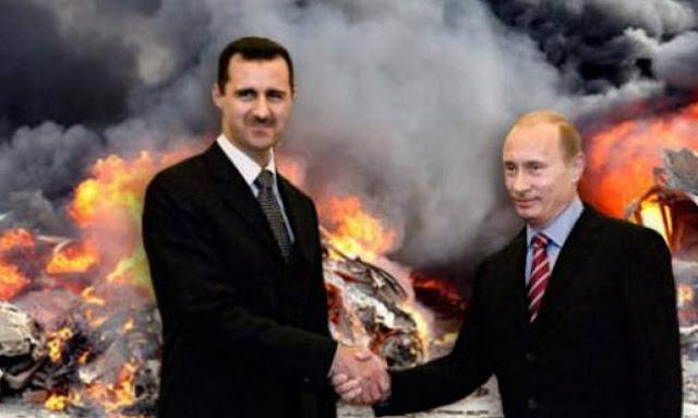 Асад делегировал свои полномочия Путину
