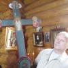 Новый крест с частицей старого чтимого креста