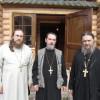 прот.Андрей (слева), прот.Александр, прот.Геннадий (справа)