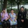 Блаженная (в центре) (снимок о. Геннадия Беловолова)