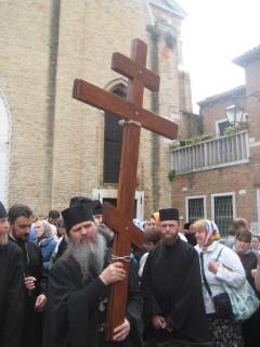 Крестный ход в Венеции