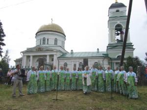 Выступление Соминского народного хора