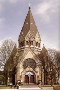 Храм св. Иоанна Кронштадтского в Гамбурге