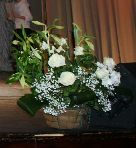 Букет, сделанный Татьяной на 21 Таисинский концерт