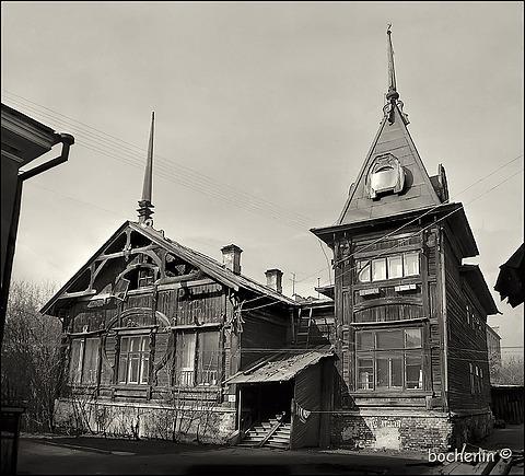 Деревянная архитектура екатеринбурга
