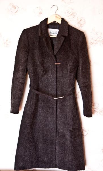 №20 Демисезонное серое пальто-1