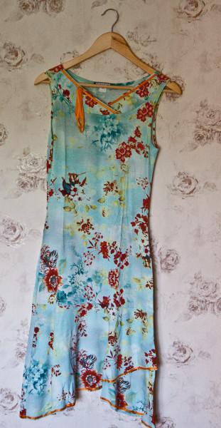 №15 Летнее романтичное платье-1
