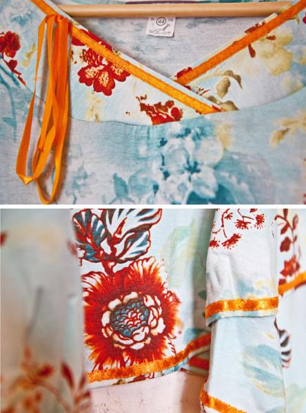 №15 Летнее романтичное платье-коллаж 1