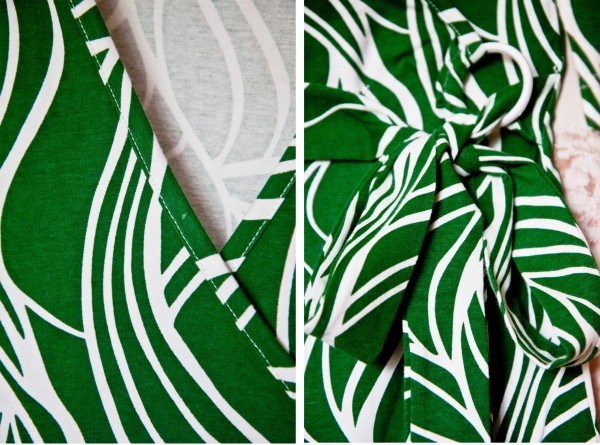 №18 Зеленое платье-коллаж 1