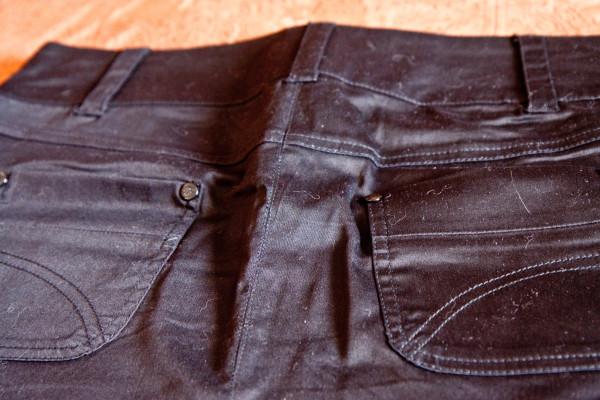№9 Чертная короткая юбка-3