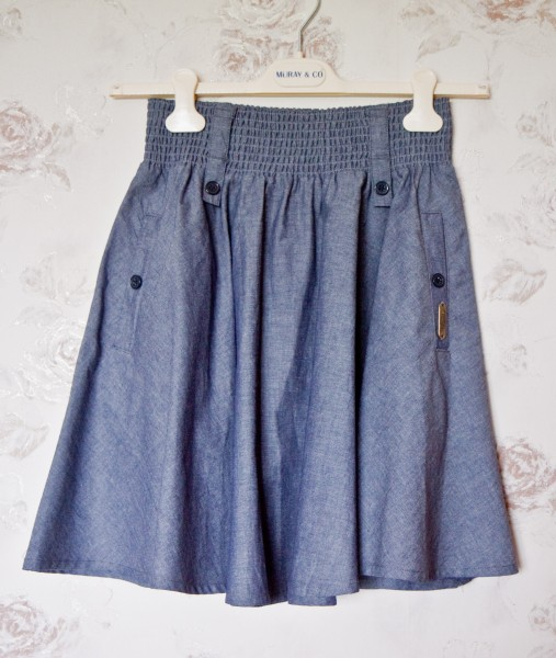№22 Джинсовая юбка-1
