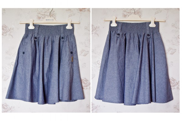 №22 Джинсовая юбка-коллаж 1