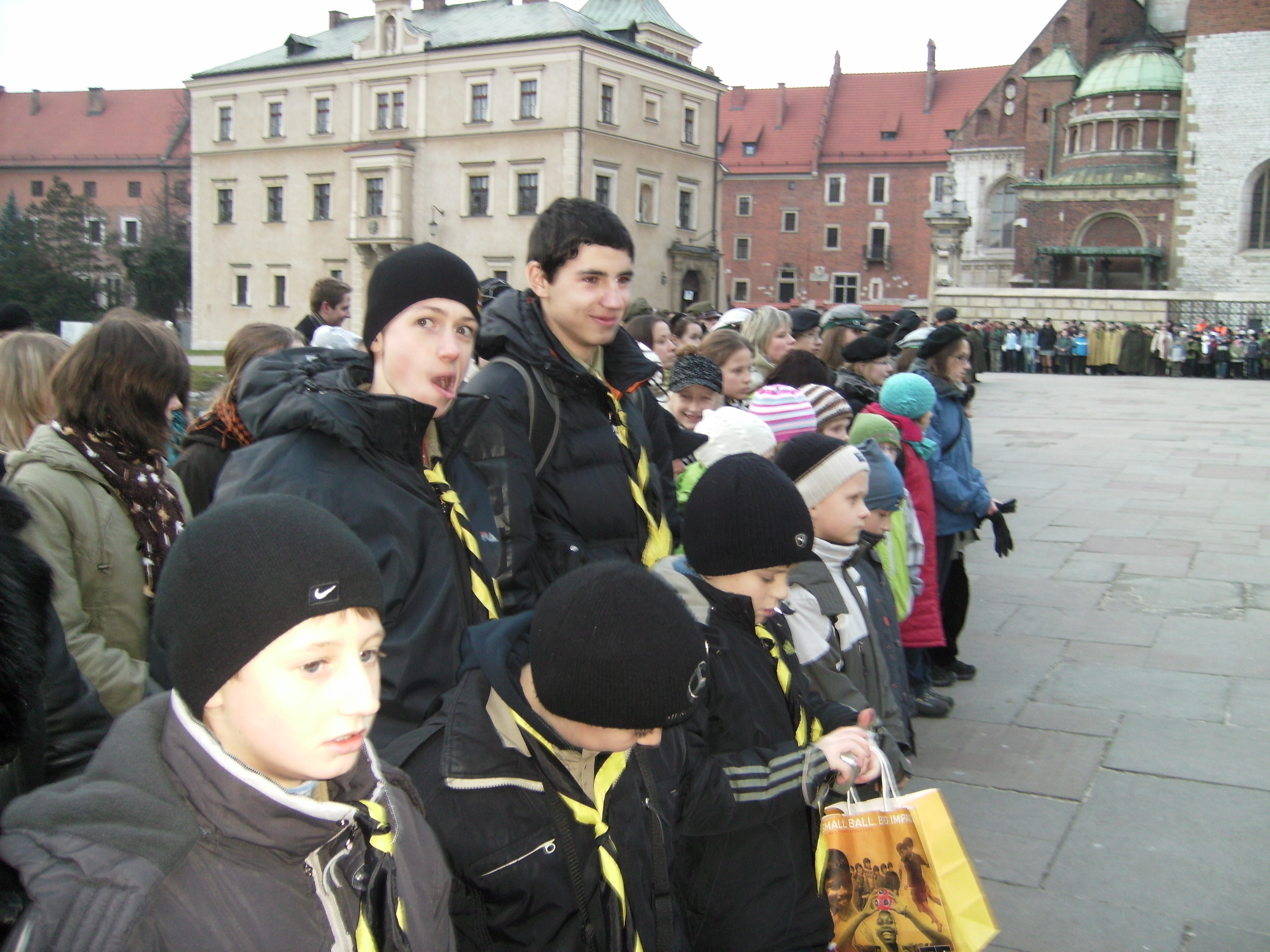 Вифлеємське Світло Миру. На лінійці в Кракові-4