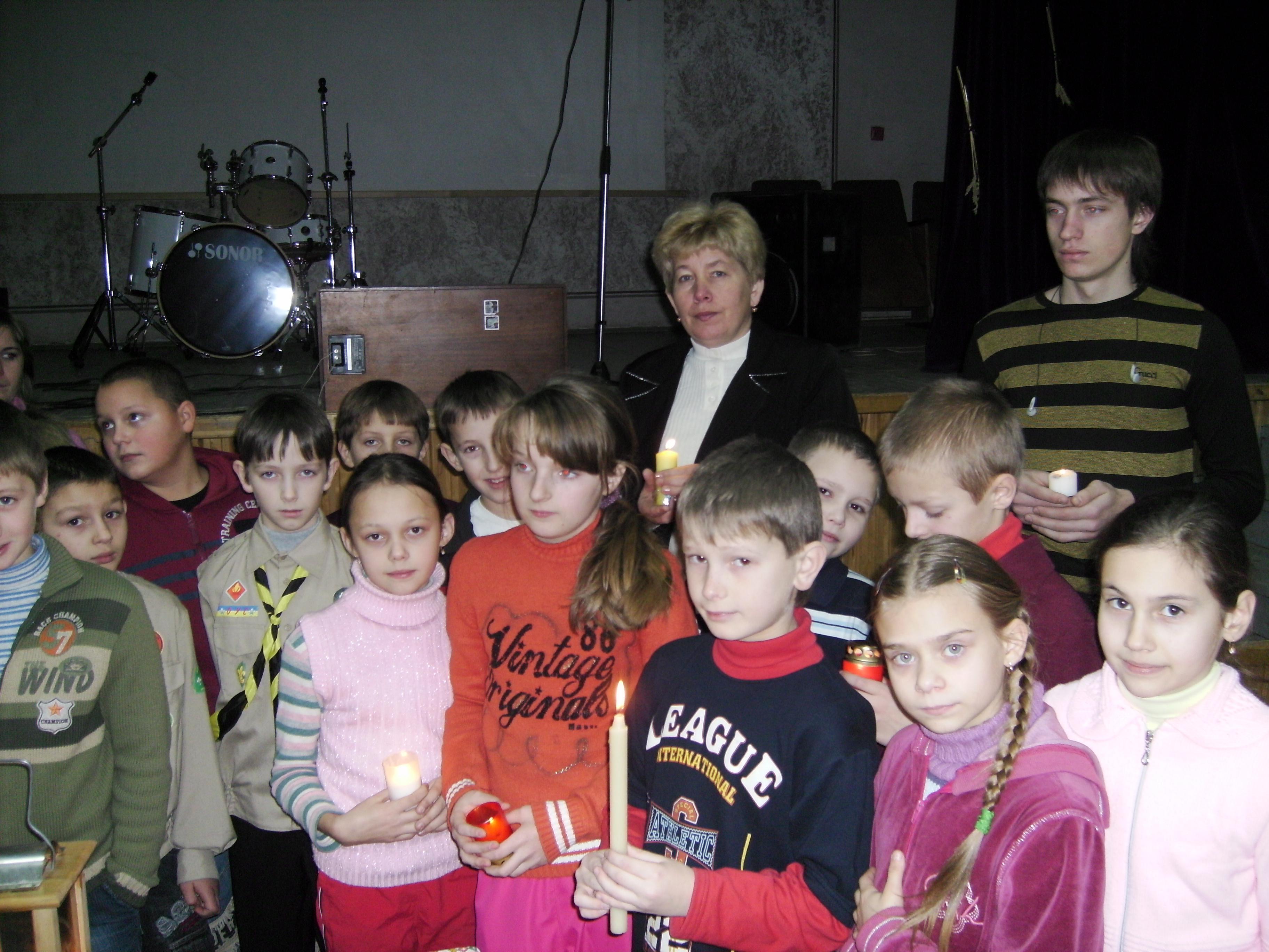 Вифлеємське Світло Миру 2008. Світло у школах-3