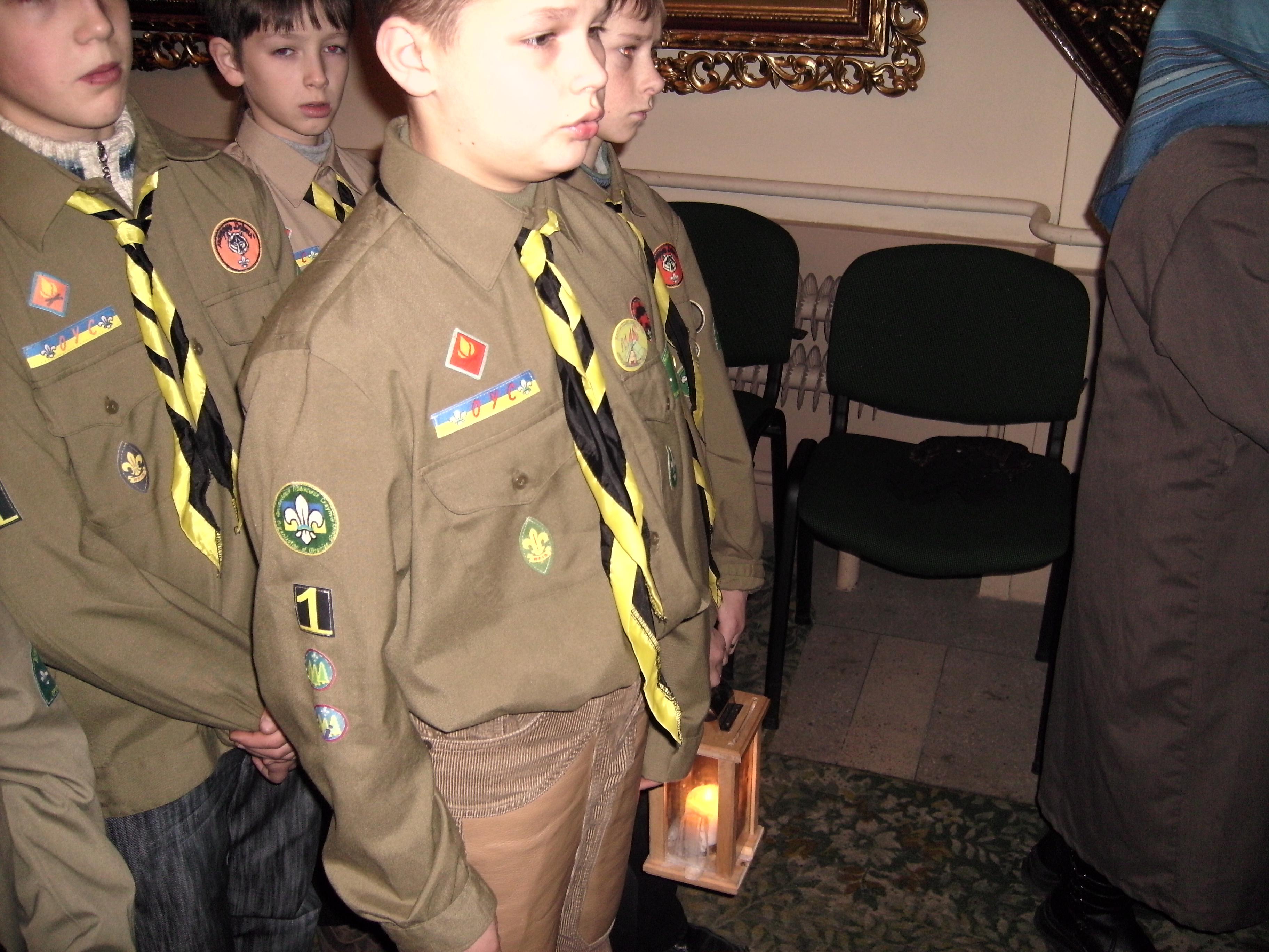 Вифлеємське Світло Миру 2008. Світло Миру в костелі Святого Антонія-23