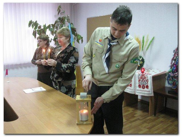 Вифлеємське Світло Миру 2008 в Черкасах