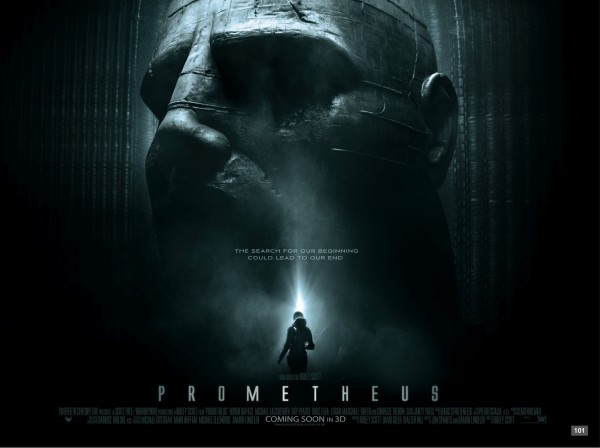 Prometheus poster quad