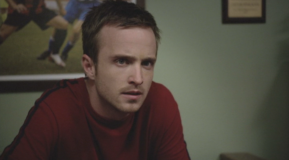 Aaron Paul as Jesse Pinkman on Breaking Bad Season One Cancer Man 2