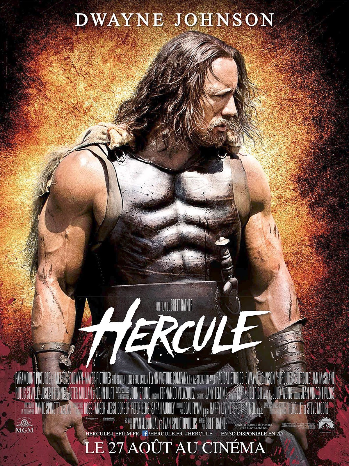 Hercules New  French Poster
