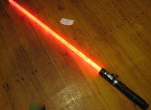 Как сделать из бумаги меч звёздные войны