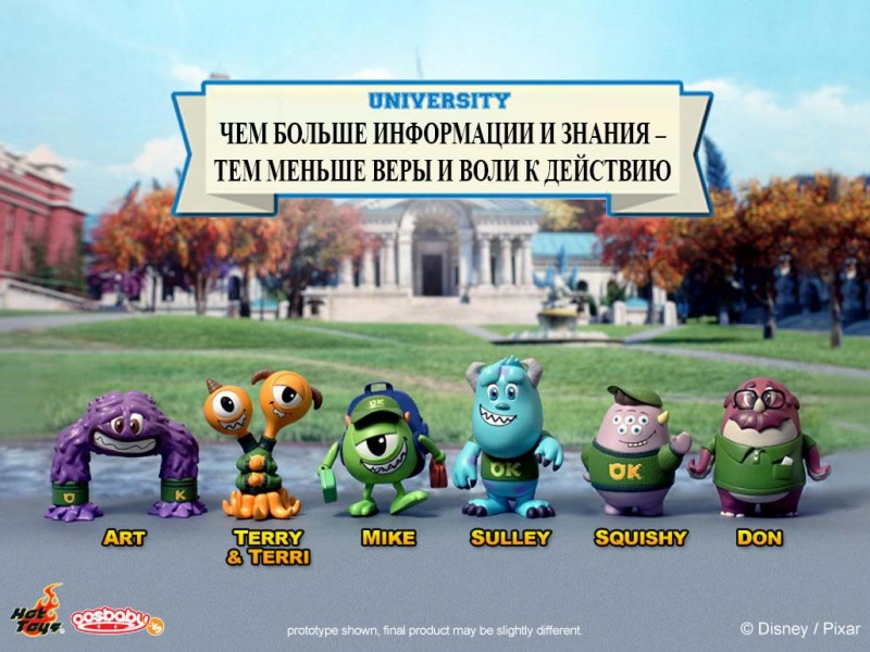 Monsters University -  Cosbaby (S) Series_PR1