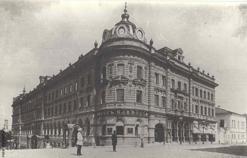 Пассаж фасад
