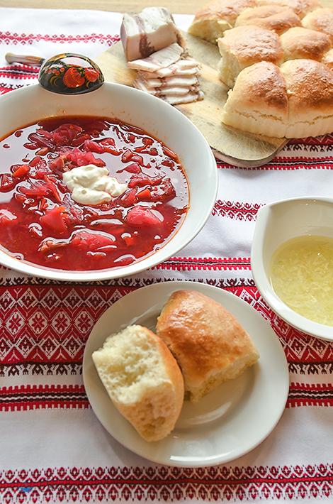 Украинская кухня. Пампушки.