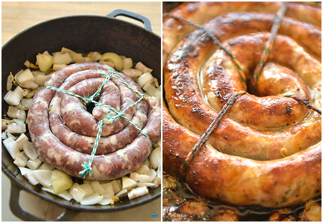 Украинская кухня. Домашние колбасы.