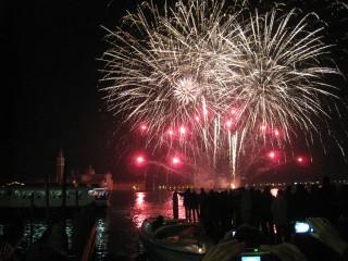 Bacino di S Marco, Fireworks, New Year's 2012