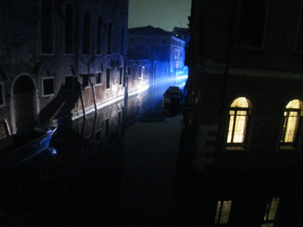 Blue light in Venice