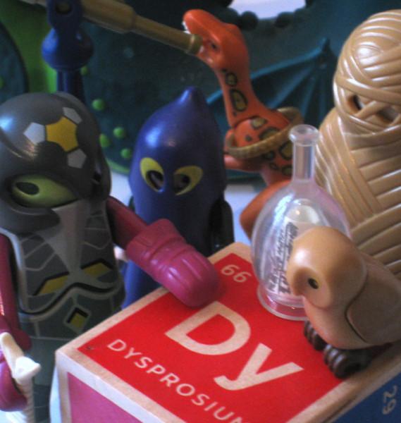 Dysprosium - Playmobil
