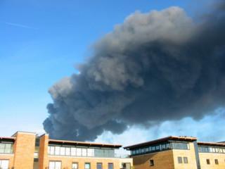 Smoke over London