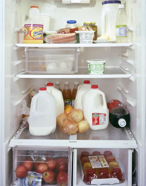 А вам слабо свой холодильник сфоткать?