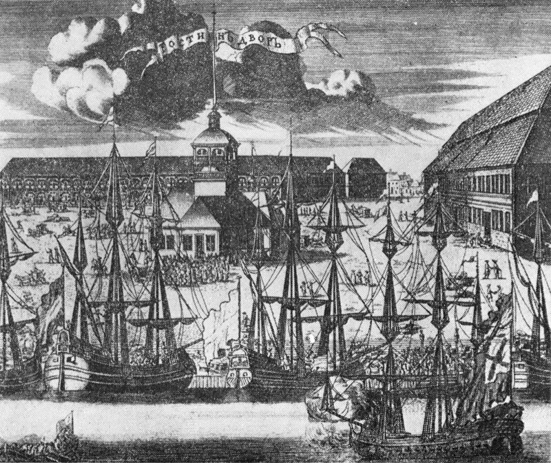 1 Гравюра А.И.Ростовцева 1716 1717 г