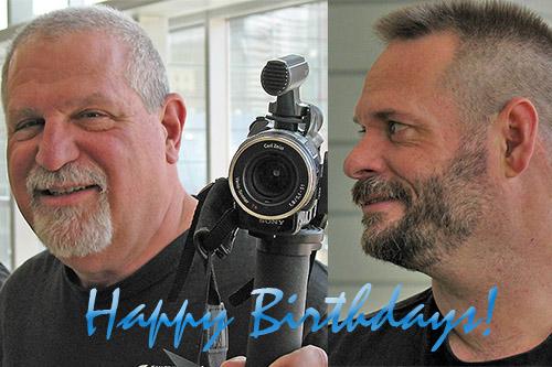 Happy Birthday Fuzzygruf and Double_ohsteven