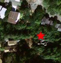 Earthquake epicenter on Google Earth
