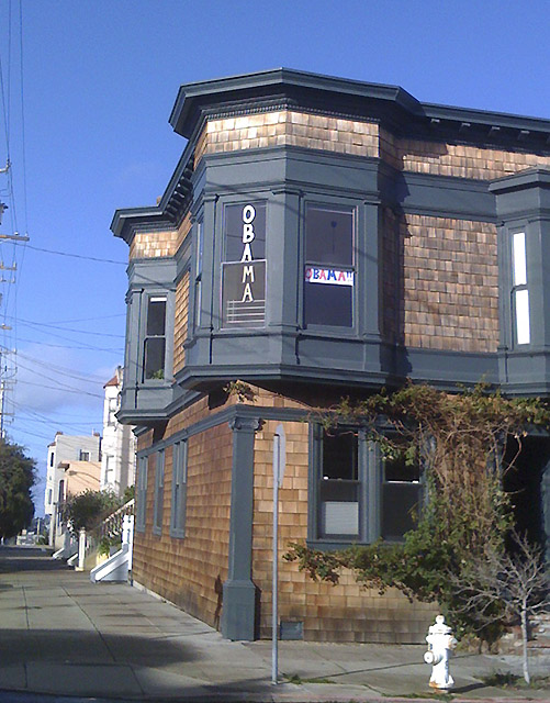 Noe Valley Home for Obama