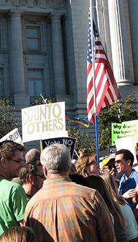 Prop 8 Protest at San Francisco City Hall November 15, 2008