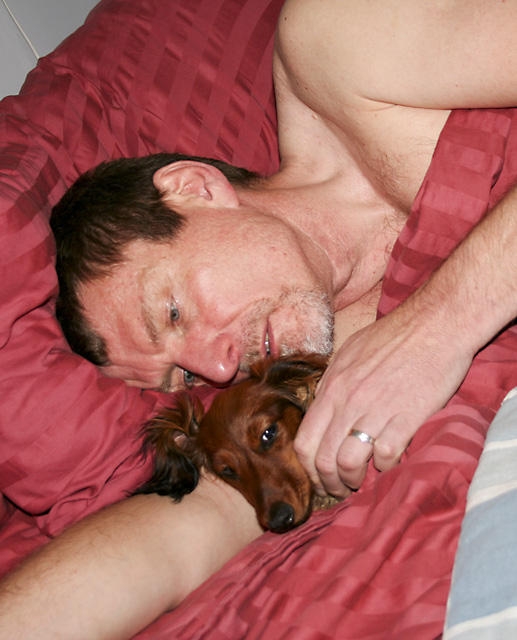 Day 42- Bed Dog with a Daddy