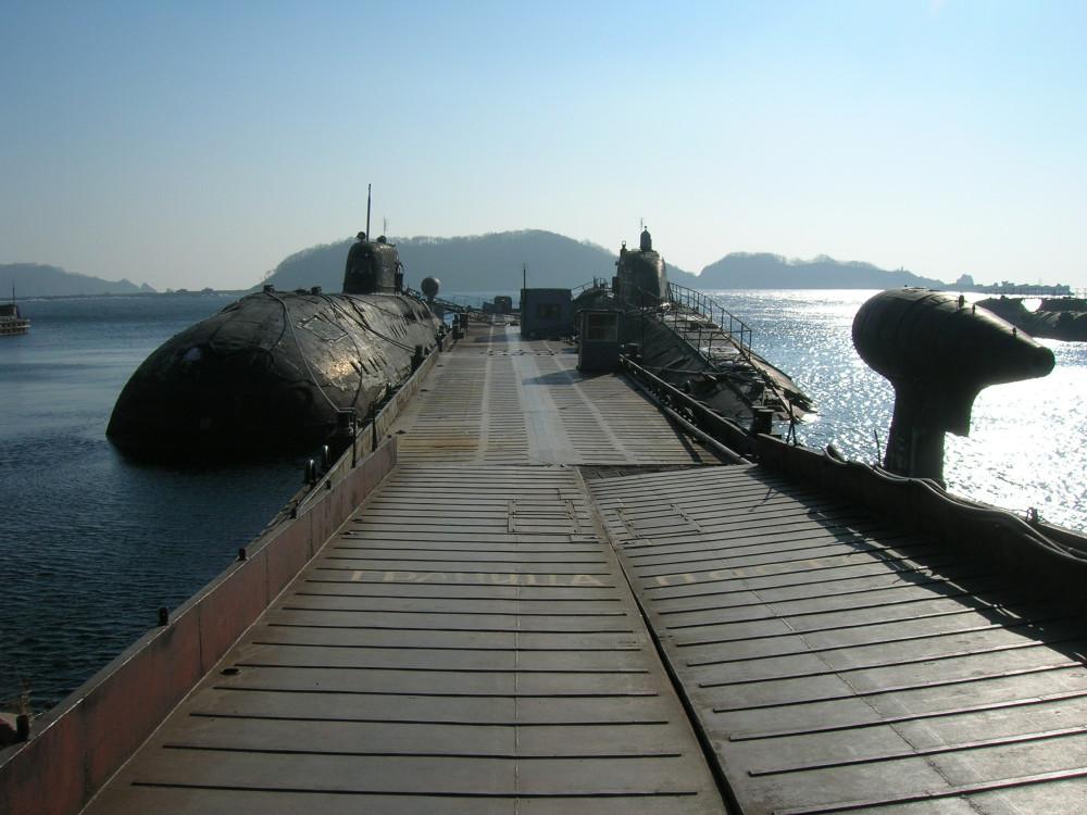 подводные лодки в фокино