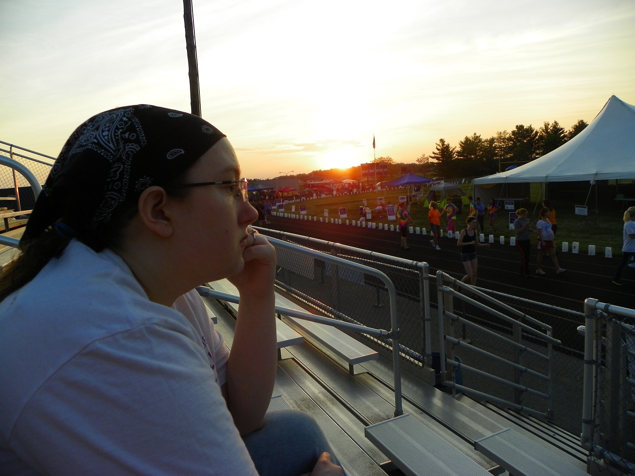 Relay Emily sunset